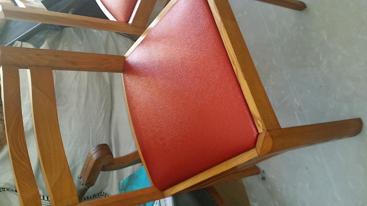 série de chaises rafraîchit simili Carlucci