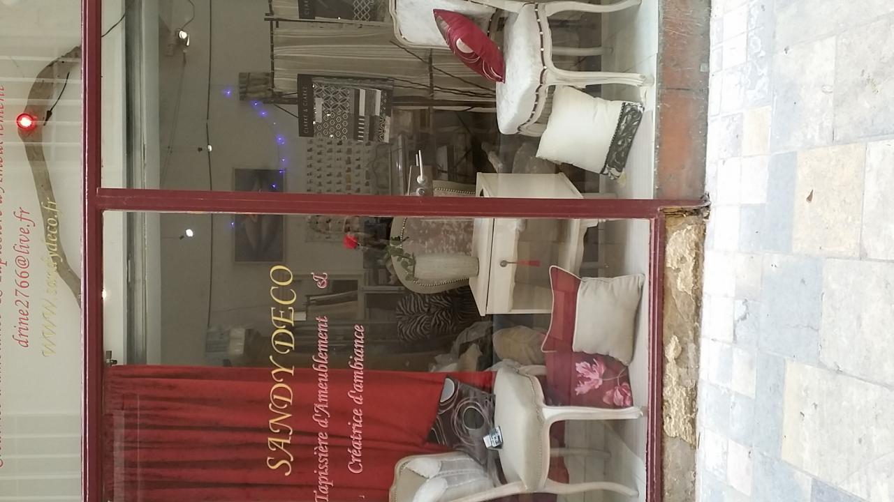 Chevet relooke vitrine Red!