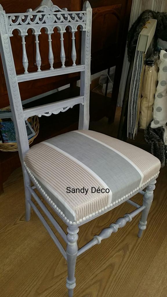 Chaise style en vente en Boutique Sandy Deco