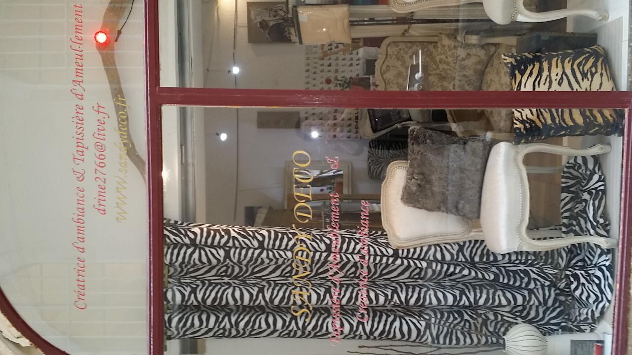 rideaux 140cm de large motifs zebre en vente hauteur d 39 ourlet sur mesure. Black Bedroom Furniture Sets. Home Design Ideas