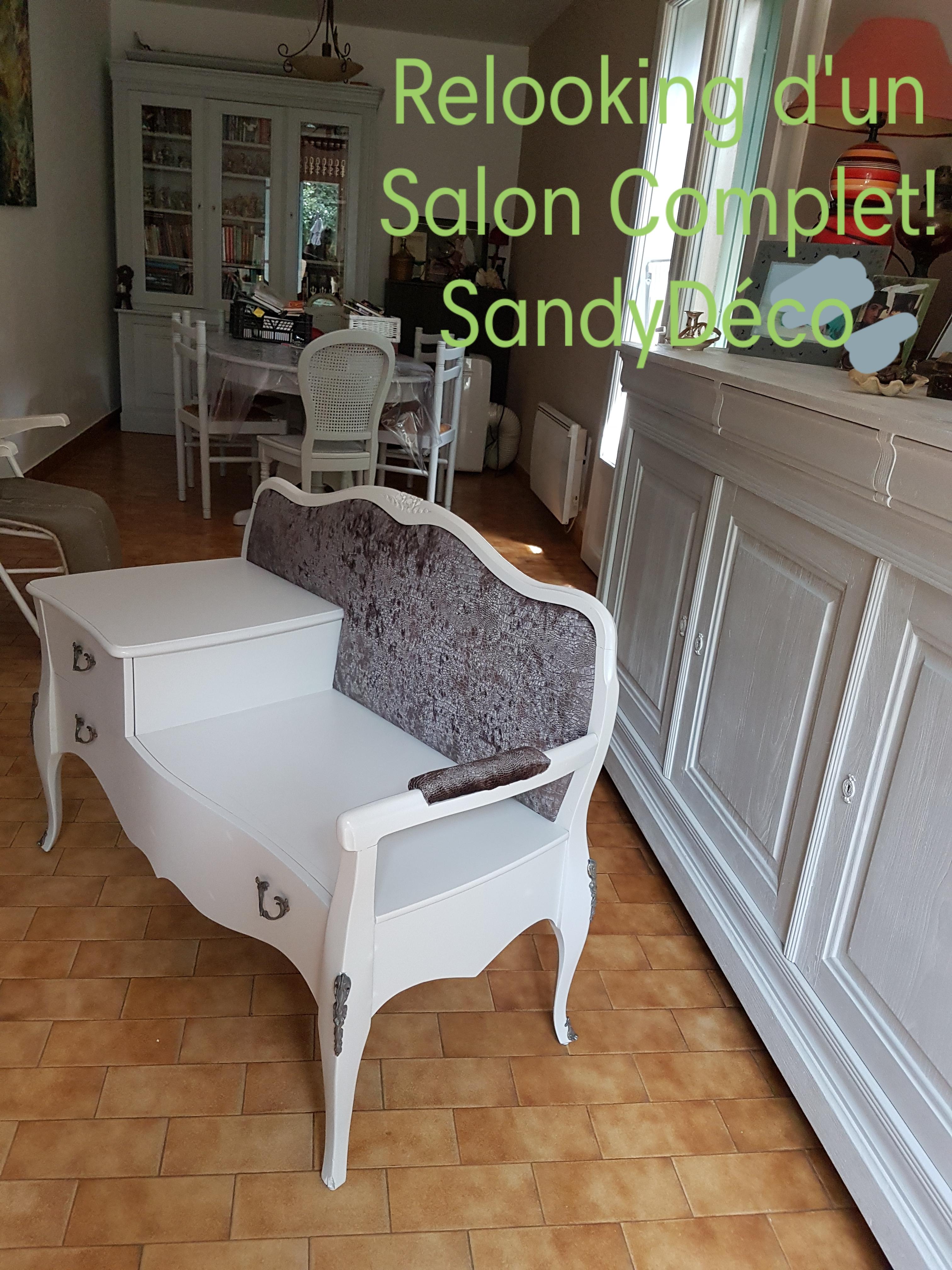 meuble relooke fauteuil relooke gard vaucluse refection des sieges peinture caseine chevet. Black Bedroom Furniture Sets. Home Design Ideas