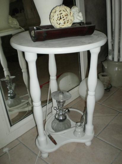 Petit Table ronde.Guéridon
