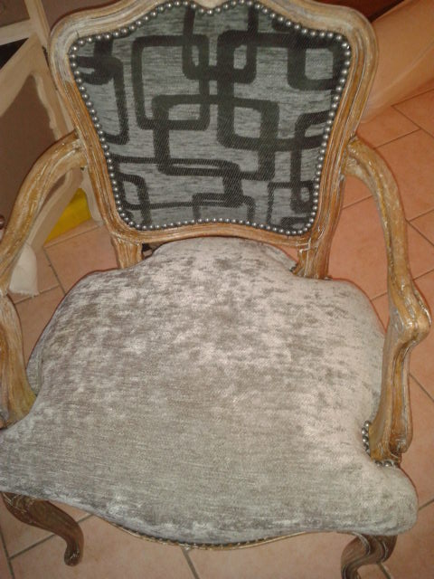 fauteuil relook. Black Bedroom Furniture Sets. Home Design Ideas