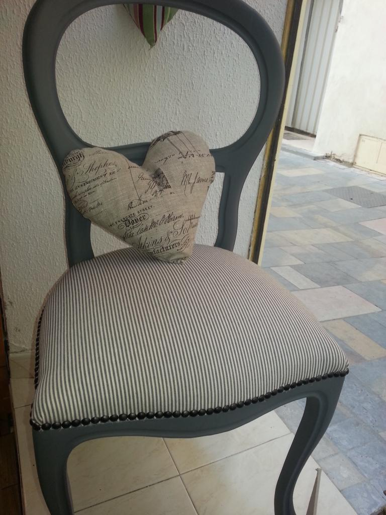 Chaise Style Louis Philippe Relookée