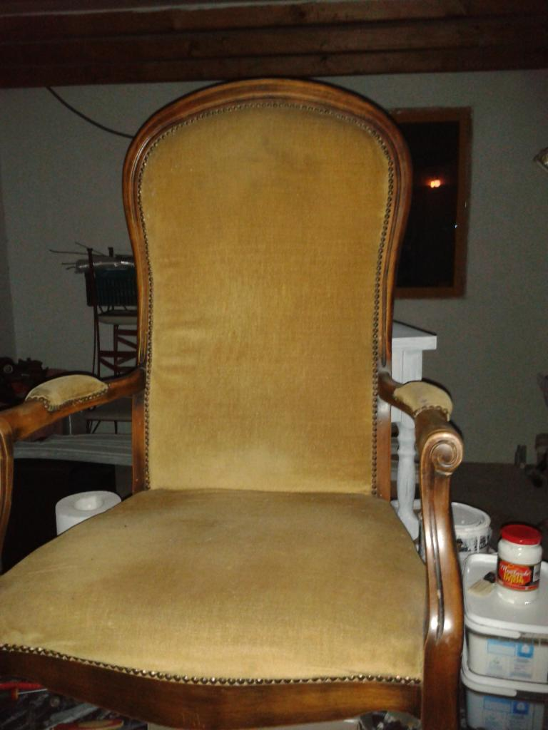 Fauteuil Style Voltaire