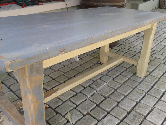 Table avant relooking