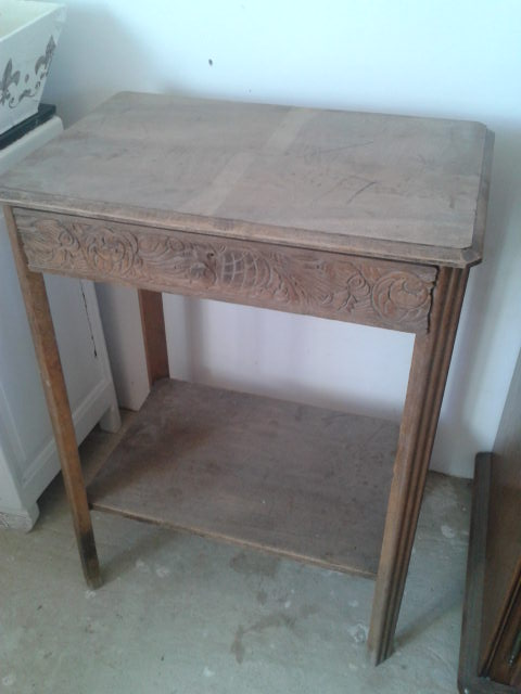 Table ancienne AVANT